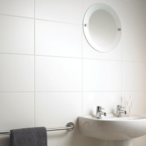 17 Best ideas about White Tile Bathrooms on Pinterest
