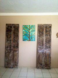 17 Best Louvered Door Ideas on Pinterest | Old shutters ...