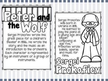 169 best images about Instruments, Peter & the Wolf