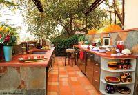 Spanish style outdoor kitchen | Backyard wants | Pinterest ...