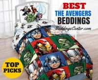 "Top-Rated ""The Avengers"" Beddings - Twin and Full Bedding ..."