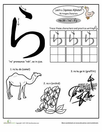 25 Besten Ideen Zu Hiragana Alphabet Auf Pinterest
