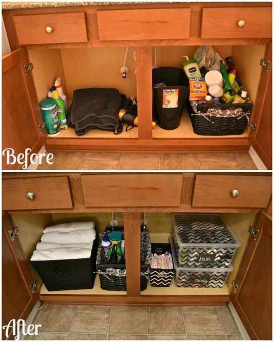 Top 25 ideas about Organizing Before  After on Pinterest