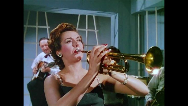 Kay Kendall In Genevieve The Trumpet Scene Funny Lady