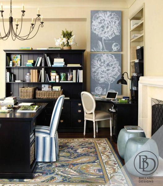 ballard home office design Beautify your home office with Ballard Designs. | Ideas for the office | Pinterest | Light walls
