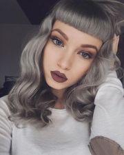 1000 ideas grey makeup