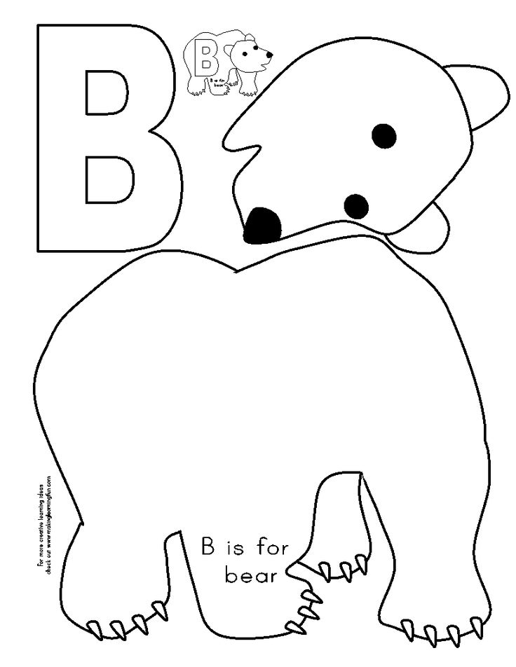 17 Best images about Preschool Letters A, B and C on