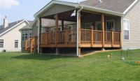 decks with roofs | Covered Deck Free Standing Deck Designs ...