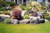 Pictures of landscaped lawns, home decorating ideas for ...