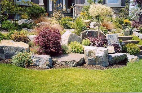 landscaped lawns home