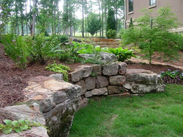 25 Best Ideas About Rock Wall Landscape On Pinterest Creeping