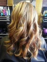 Blonde & caramel highlights | Hair | Pinterest | Colors ...