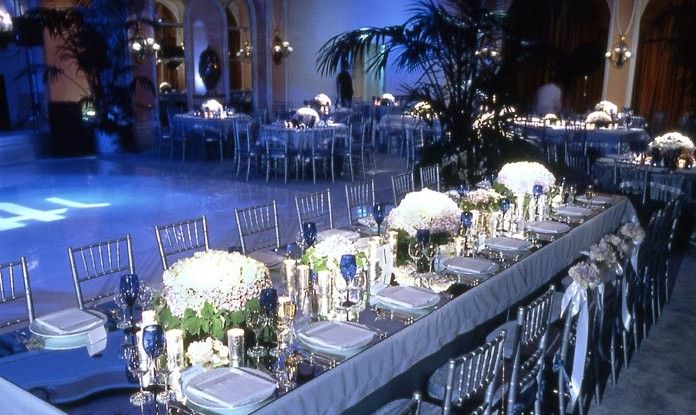 Blue Black And Silver Wedding Pictures