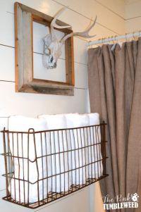 25+ best ideas about Towel storage on Pinterest