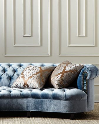 Haute House Velvet Sofa Catosfera Net