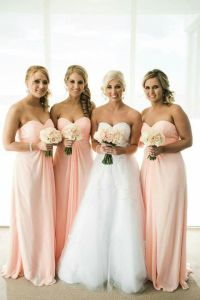25+ best ideas about Peach bridesmaid dresses on Pinterest ...