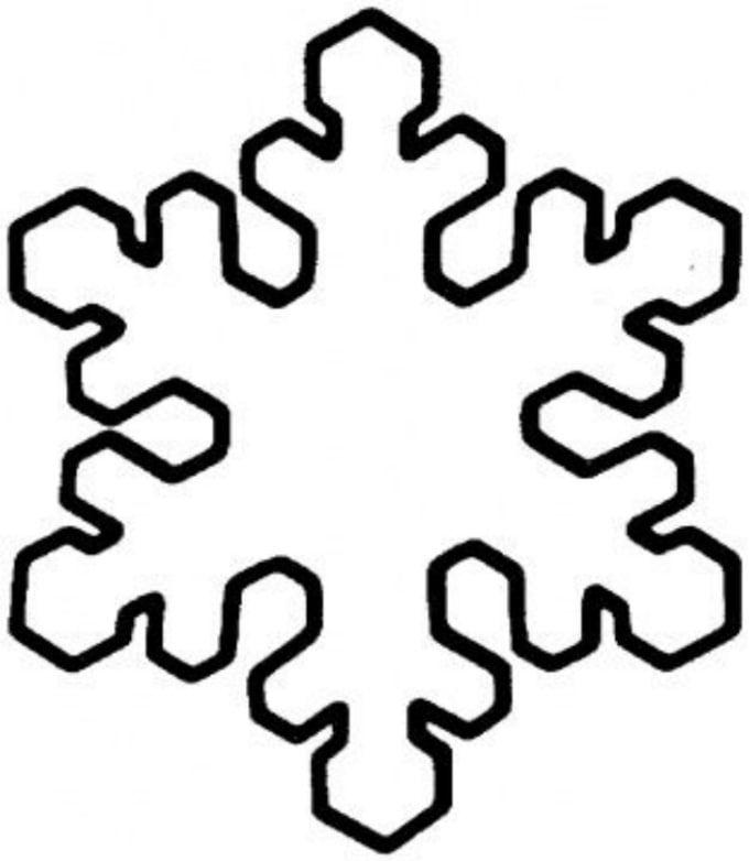 Printable snowflake templates to create beautiful crafts