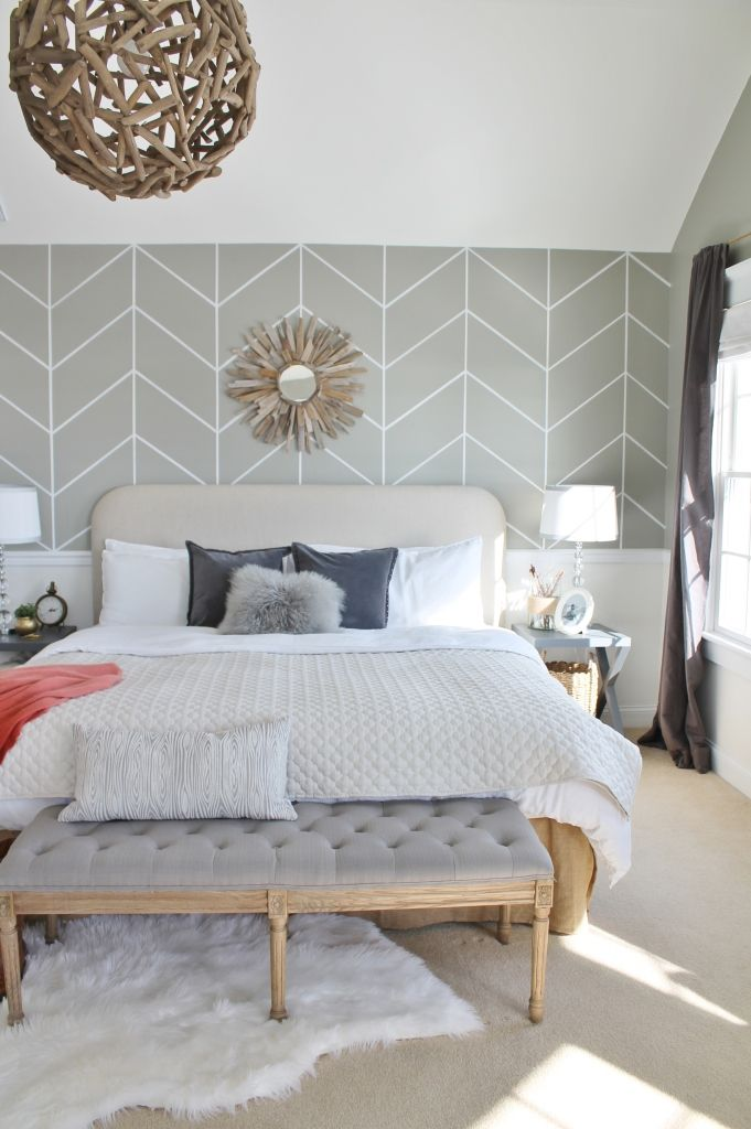 17 Best ideas about Accent Wall Bedroom on Pinterest