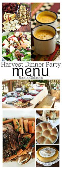 25+ best ideas about Fall Dinner Parties on Pinterest ...