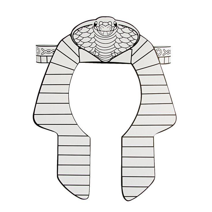 Color+Your+Own+Pharaoh+Headbands+-+OrientalTrading.com