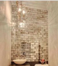 25+ best Antique mirror tiles ideas on Pinterest | Mirror ...
