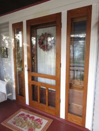 1000+ ideas about Storm Doors on Pinterest   Wood screen ...
