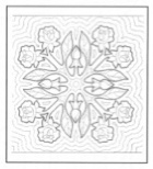 91 best images about Hawaiian quilt blocks on Pinterest