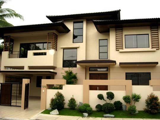 Modern Asian Exterior House Design Ideas 2nd Favorite Color