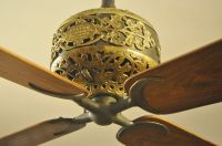 Dayton ornate DC ceiling fan | Antique Electric Fan ...
