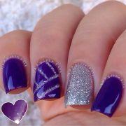 ideas purple nails