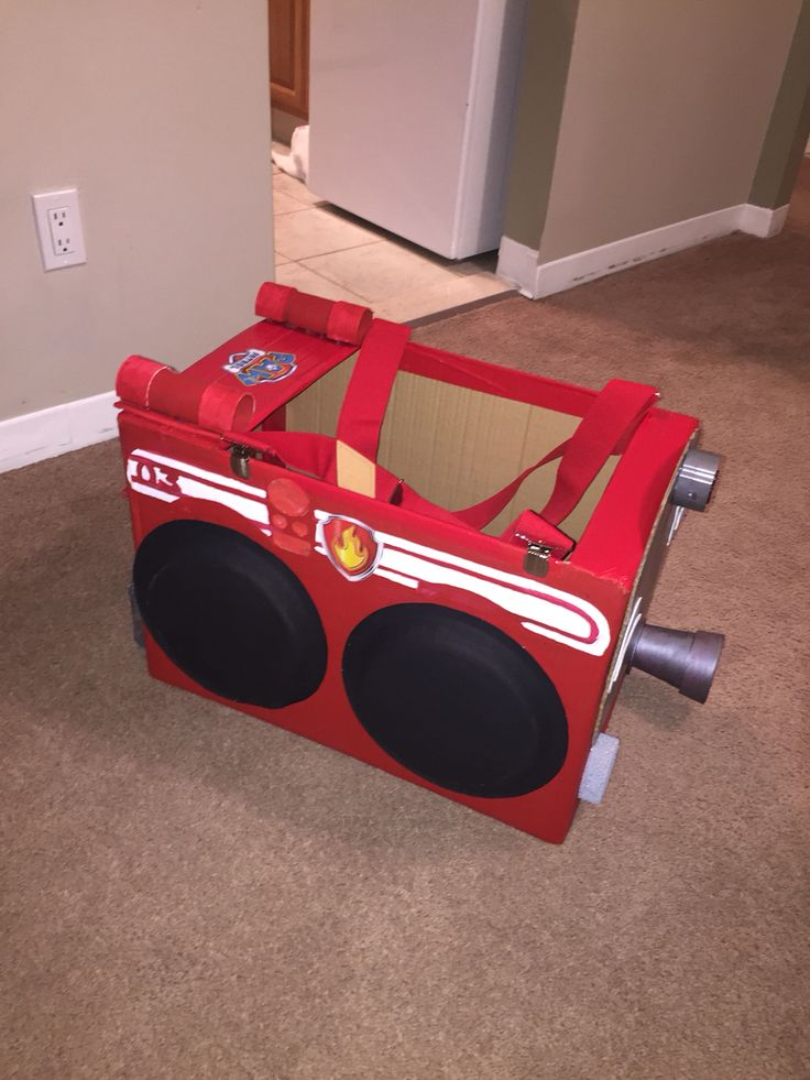 kids high chair target potty diy paw patrol marshall fire truck | costume pinterest marshall, ...