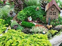 9 best images about Fairy Garden - Bird Bath on Pinterest ...