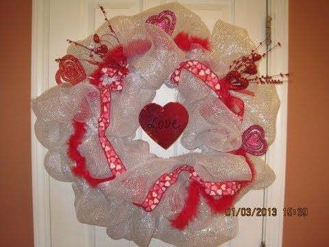 Every Holiday Deco Mesh Wreath YouTube Wreaths And Pom