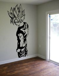 Dragon Ball Z Goku Wall Decal Sticker Vinyl Decor Kids ...