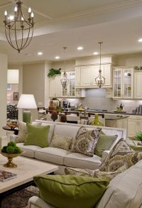 17 Best ideas about Kitchen Living Rooms on Pinterest