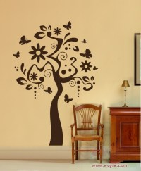 Art Tree - Wall Decal for Living Room and Interior ...