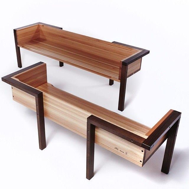 25+ best ideas about Modern bench on Pinterest