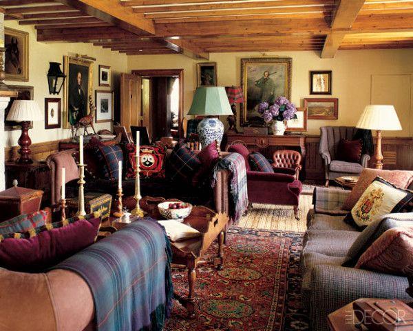 Traditional Scottish by Denton and GardnerGlen Feshie Lodge in Scottish Highlands  ENGLISH