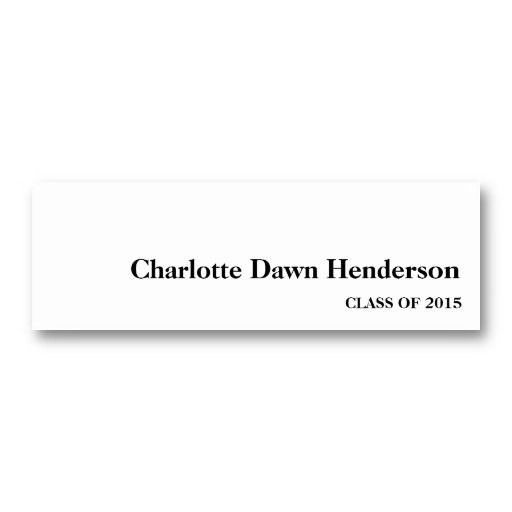 20 best images about Name Cards For Graduation