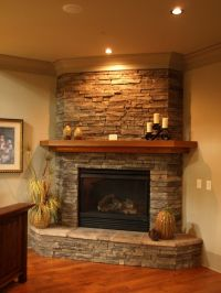 Corner Fireplace Mantels Ideas