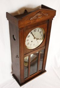 Beautiful Antique French Vedette CHIME wall clock 1910 ...