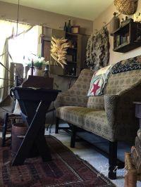 202 best images about Primitive Livingroom on Pinterest