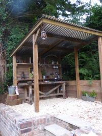 25+ best ideas about Simple outdoor kitchen on Pinterest ...