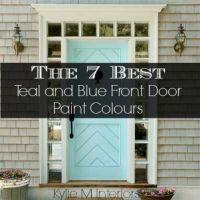 7 Best Teal and Blue Front Door Colours : Behr, Benjamin ...