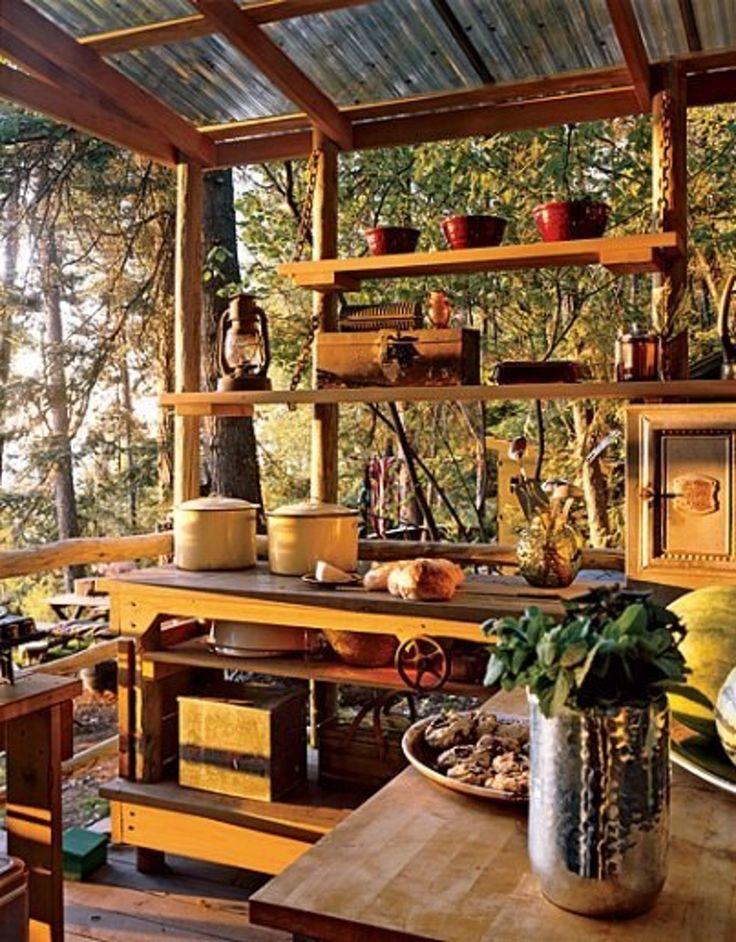 Best 20 Small Outdoor Kitchens ideas on Pinterest