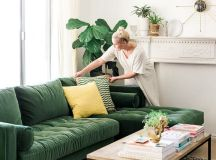 25+ best ideas about Green sofa on Pinterest | Green couch ...