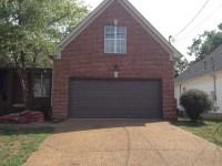 Painted the garage door a dark beige brown | Our First ...