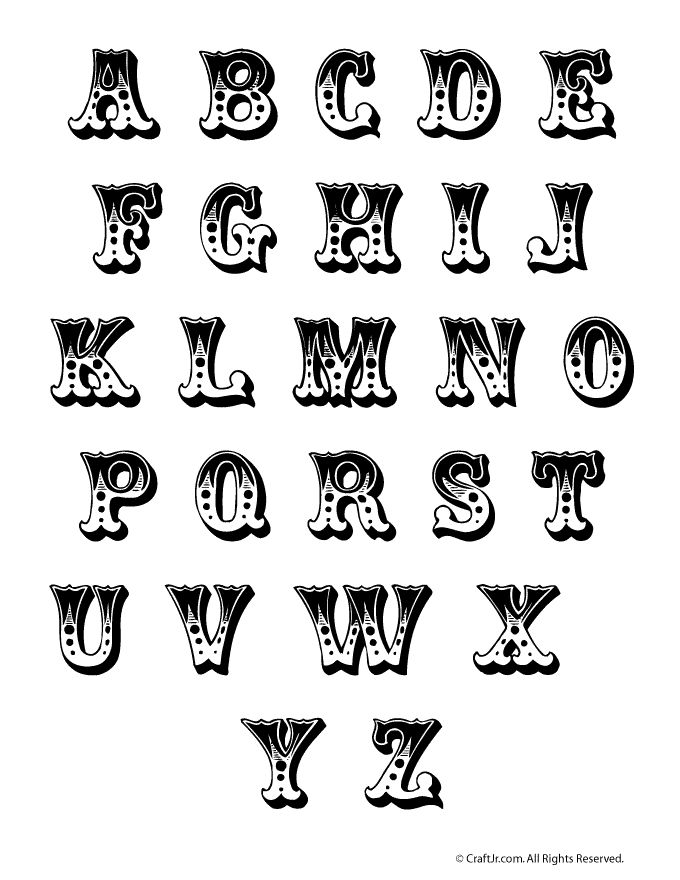 121 best images about Printable letters on Pinterest