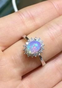 25+ best ideas about Opal promise ring on Pinterest ...