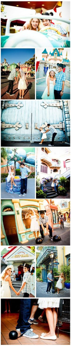 Disneyworld engagement photos! Dont know if I would actually do this (or if a gu